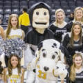 Providence Friars Dom and Dalmatian c. 2017