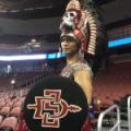 San Diegot State Aztec Warrior March 2018