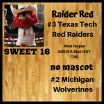 West 16 Texas Tech Michigan