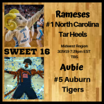 Midwest 16 North Carolina Auburn