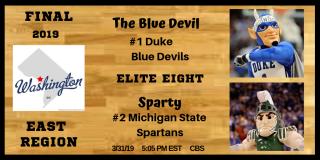 East Final Duke Michigan State